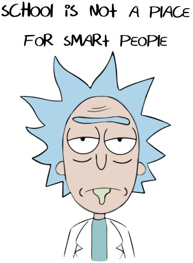 Rick Sanchez on scohol